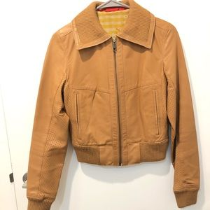 Puma Genuine Leather Jacket XS or S